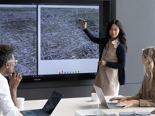 Handige weetjes over de Microsoft Surface Hub in drie korte video's