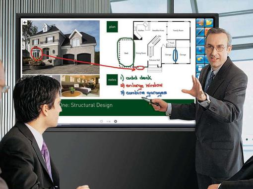 Stay in touch: Sharp 70 inch BIG PAD
