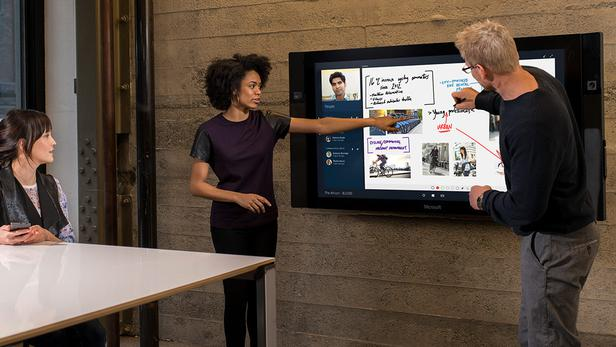 Microsoft Surface Hub launch event
