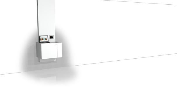 VisionCube & Shelf