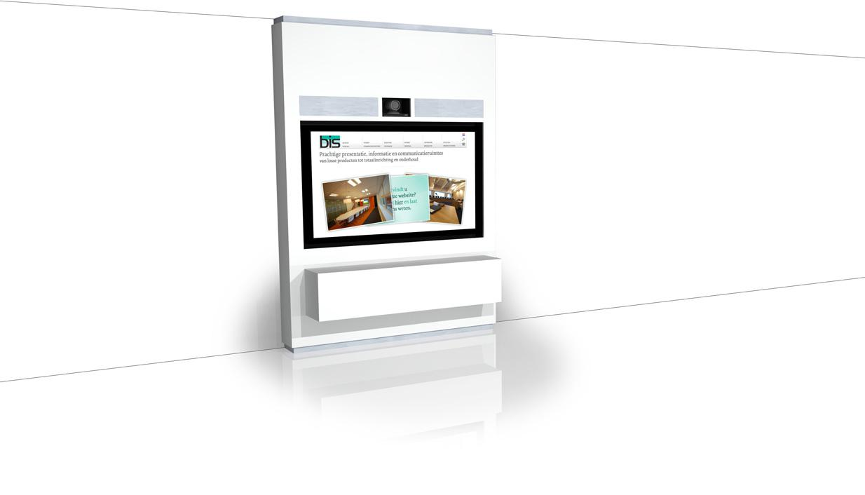 meubilair display camera kast