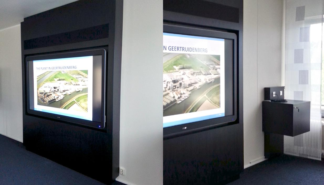 lcd display, BIS visionwall
