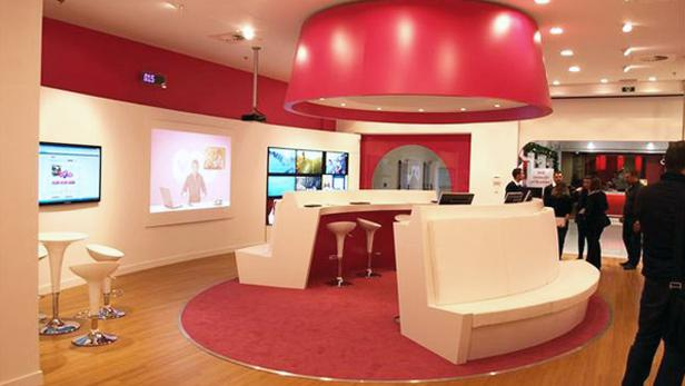 Digital Signage in Retail en Office