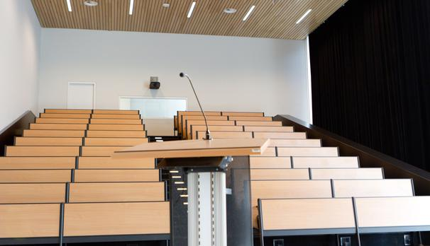 Auditorium en collegezaal