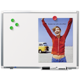 Premium plus whiteboard 90 X 120 cm