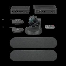 Logitech Rally Plus Videoconferentiekit black